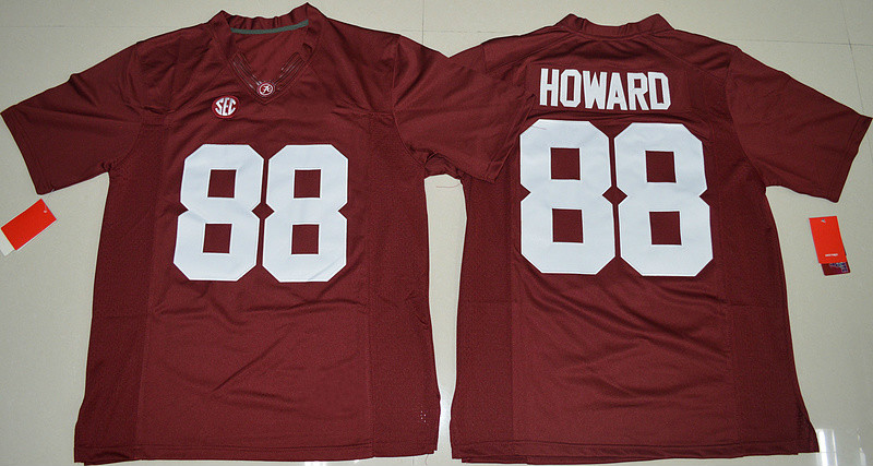 88 O.J Howard College Jersey White Red(China (Mainland))