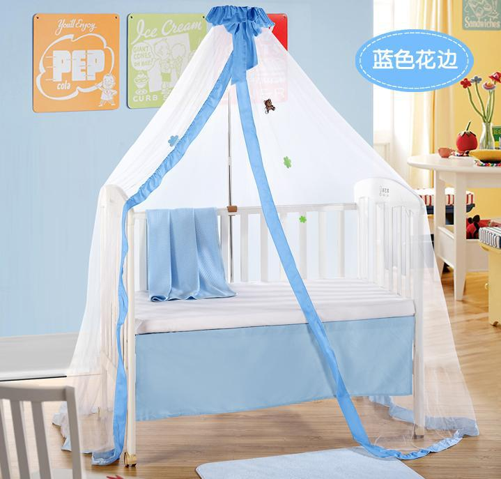Best Selling Baby Bed Products,Blue Mosquito Net,Cute Mosquito Net for Newborn/Infant Crib/Cot,3 Beautiful Colors for Choosing(China (Mainland))
