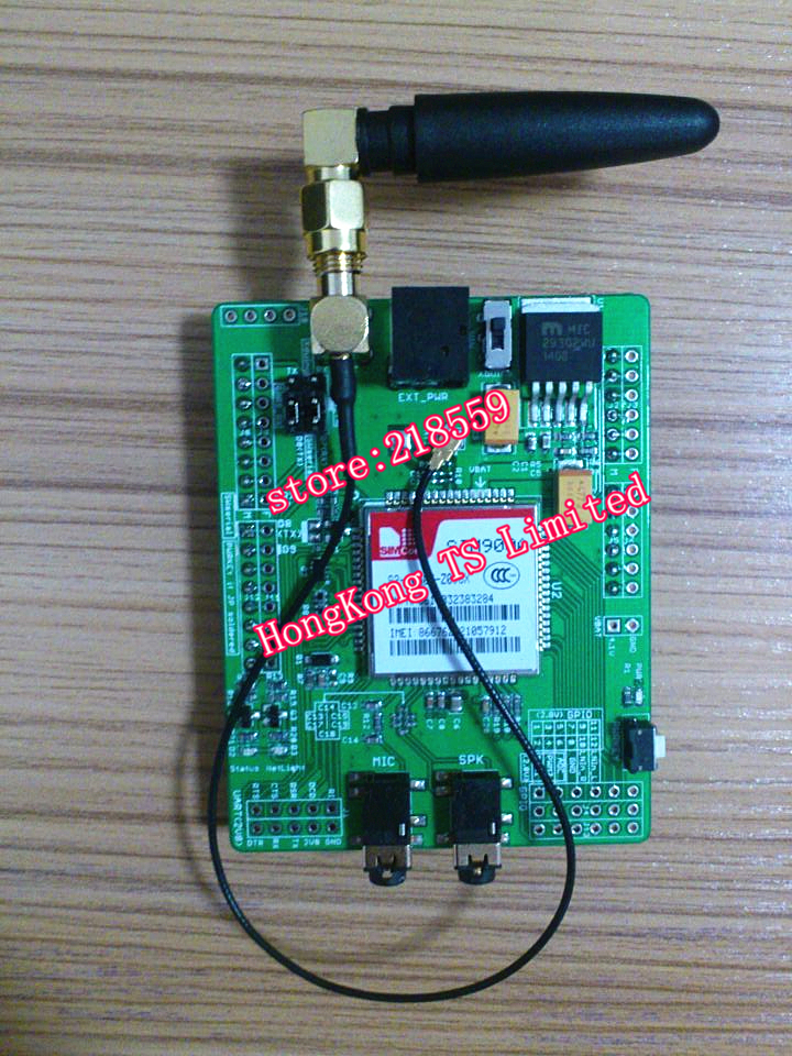 Geeetech GSM/GPRS Shield with Antenna SIM900(China (Mainland))