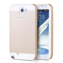 For Samsung Galaxy Note 2  Phone Back Cover Case Aluminum Cover Cases waterproof Shockproof Skid Scratch Resistant Womens Gift