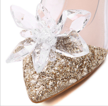 Adhesions shoes clips decorative shop Shoes flowers shoe accessories shoe clip crystal charm material N2045(China (Mainland))