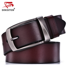 DINISITON designer belts men high quality genuine leather belt man fashion strap male cowhide belts for men jeans cow leather(China (Mainland))