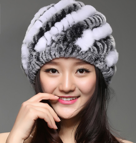 Гаджет  ZDFURS * Pepi cool Korean children hat pineapple hat autumn and winter rex rabbit hair wool hat Ms. None Одежда и аксессуары