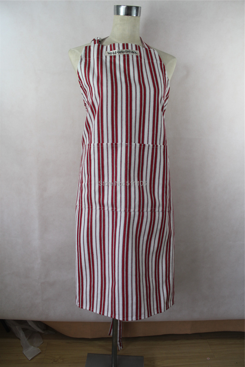 China Supplier Promotional Kitchen Apron Recyclable Cotton Apron(China (Mainland))