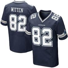 Men's #82 Jason Witten Elite Navy Blue Team Color Jersey 100% stitched(China (Mainland))