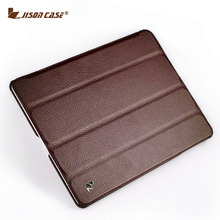 Jisoncase Smart Case For iPad 4 3 2 Cover Stand Tablet Designer Ultra Thin Leather Covers & Cases(China (Mainland))