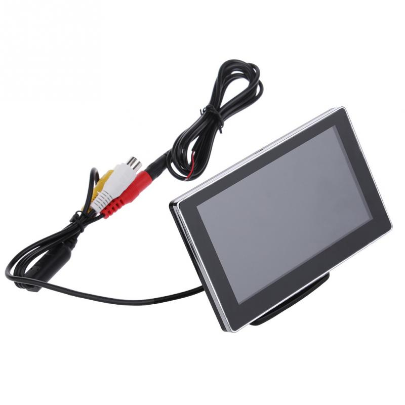"3W DC12V 4.3"" Inch Slim Dual NTSC / PAL LCD Car Display Device for DVD VCD Video(China (Mainland))"