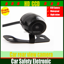 HD CCD Car rear camera car backup reverse camera rear view camera with 170 wide angle and cheap price parking assist