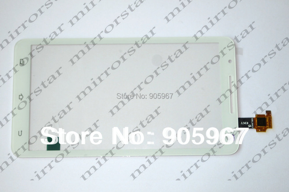 NEW original Capacitive Touch Screen panel glass Digitizer For Star Note2 N9776 U89 MTK6577 cell phone White / Black