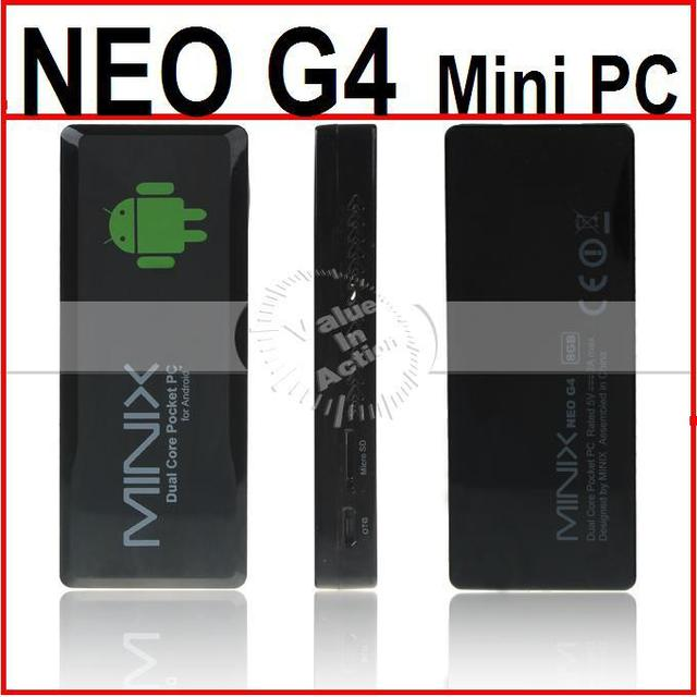 [Free Remote Control] NEO G4 RK3066 Dual Core Google TV Box Android 4.0 Mini PC 1.6Ghz 1GB RAM 8GB ROM 1080P Out-put HDMI V1.4