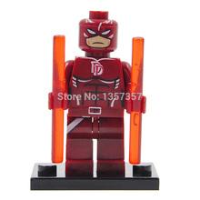 XINH 169 Daredevil Building Blocks Super Heroes Avengers Ultron Single Minifigures Bricks Mini Figures Toys