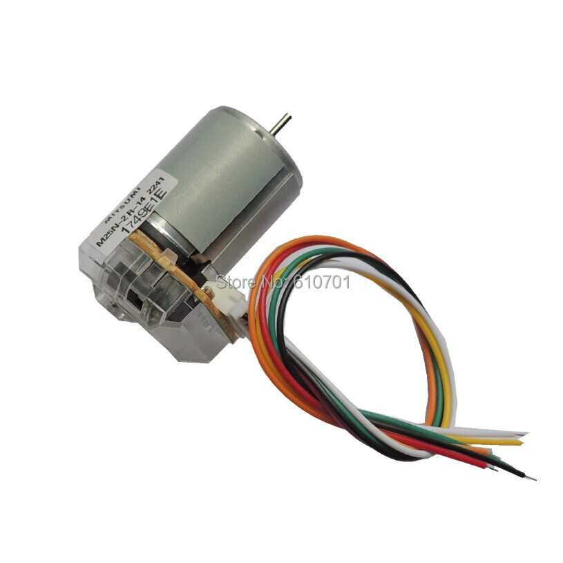 5V 12V 24V Encoder coding device tachometer disc Rectangle Electric DC Motor RF371 1000RPM 4300RPM 8600RPM(China (Mainland))