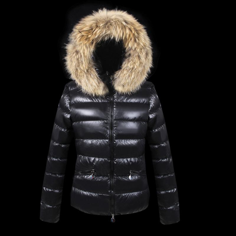 Зимняя куртка женщин 2015 зимнее пальто женщин теплое зимнее пальто mon ясно вниз и парки casaco feminino, Куница бархат colloar