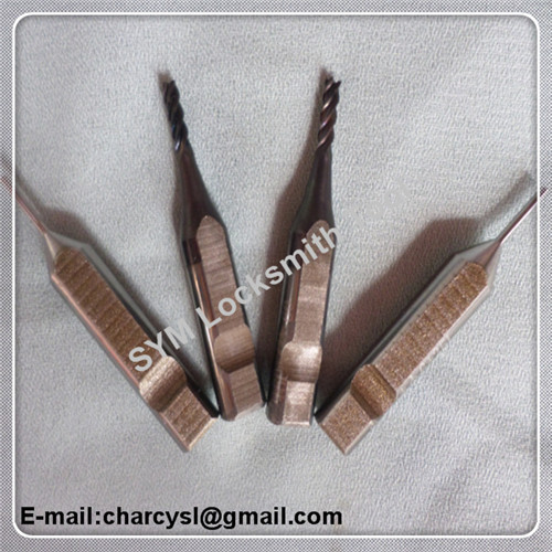 tubular key cutter and key tracer for new NC domestic V8/X6 key duplicating machines copy car key(China (Mainland))