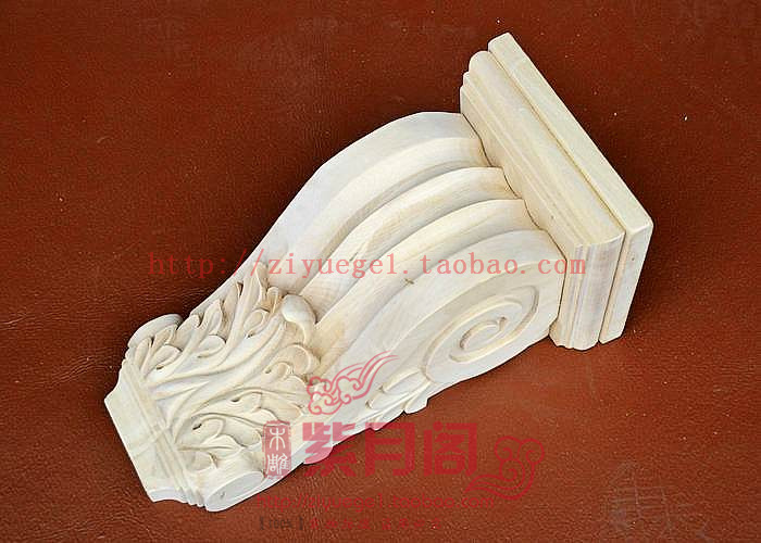 Wood carving solid wood corbel fashion column home accessories fashion yakou style(China (Mainland))