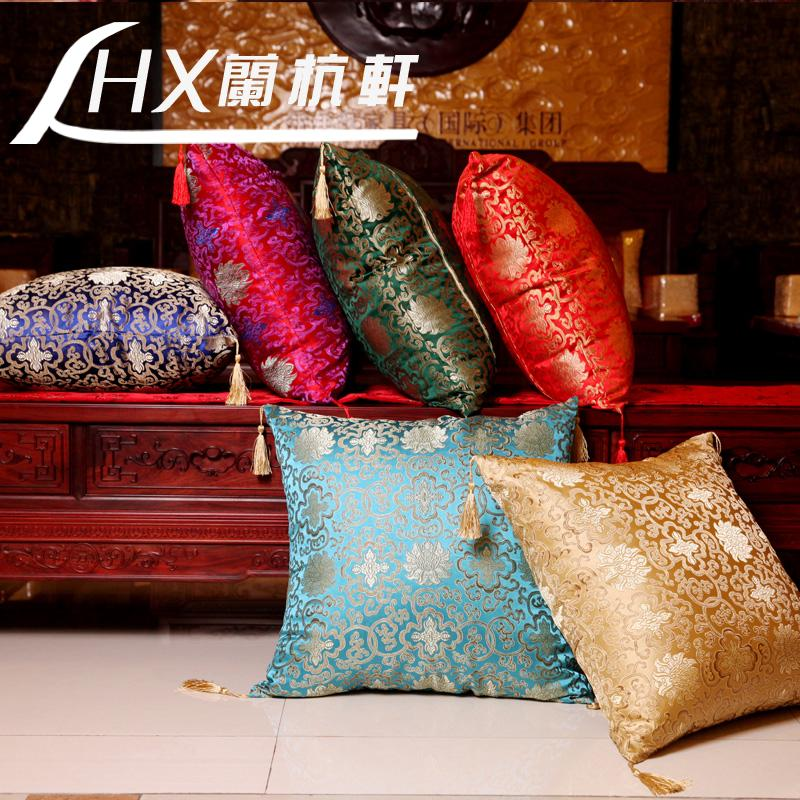 cushion cover 50 50cm 2pcs lot chinese style sofa home classical sofa. Black Bedroom Furniture Sets. Home Design Ideas