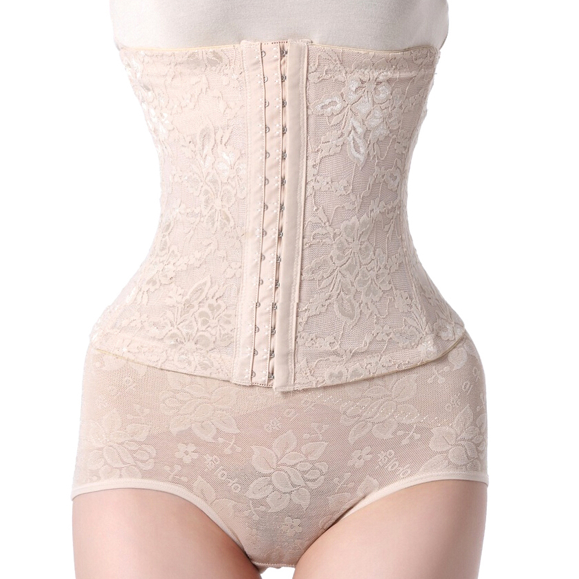 Sexy Women Corsets Plus Size Shapewear LACE Steel ...