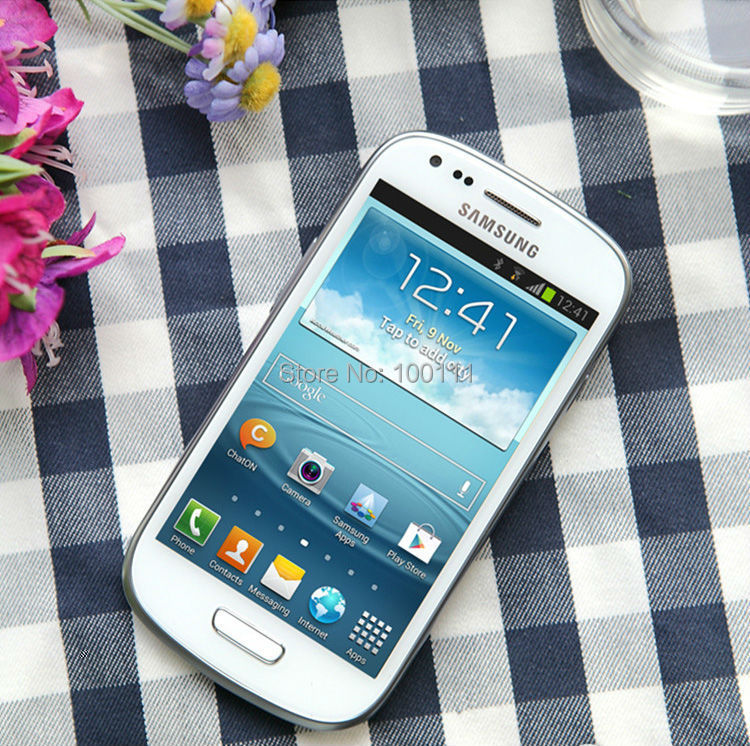 Free DHL-EMS shipping / Unlocked Original Samsung Galaxy S3 mini I8190 Cell phone with GSM Android Dual core Wifi GPS 5MP Camera(Hong Kong)