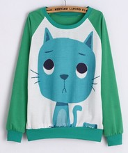Panda Printed Sweatshirts Casual Pullovers Women Sweatshirts Sports Sudaderas Girls Pullovers Women Sport Suit Casual Tops Hoody(China (Mainland))
