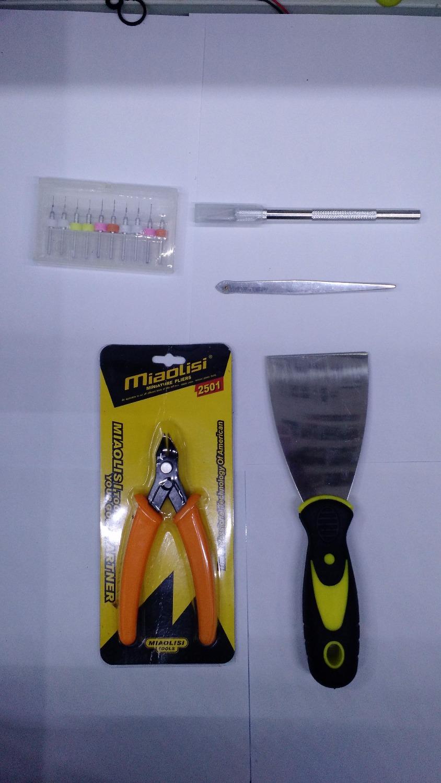 3d printer parts Reprap 3d printer repairing/model removing tools kit, thermostable gloves, cutter,shovel,scissor,nozzle drills(China (Mainland))