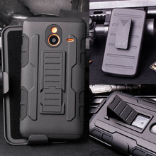 For Nokia Lumia 640 XL Case, Armor Impact Holster Hard Case For Microsoft Nokia Lumia 640XL 5.7'' Shockproof Cell Phone Cover(China (Mainland))