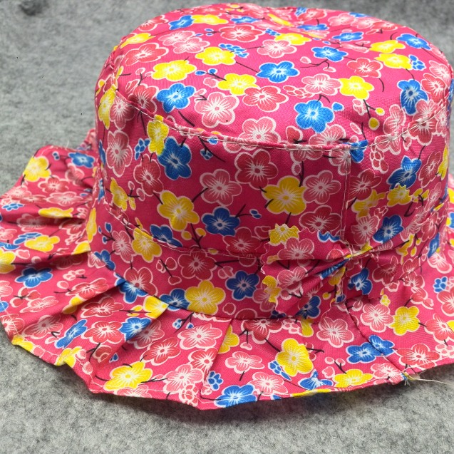 2016 New spring Summer Bebes Baby Hat Dot and Bowknot Style Girls Kids Bucket Hats Kawaii Newborn Fisherman Cap my02(China (Mainland))