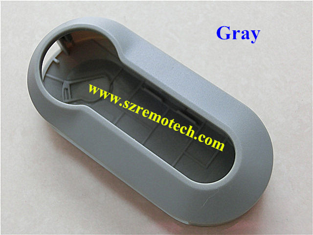 High quality Fiat 3 button remote key cover gray color /replacement key shell key blank(China (Mainland))