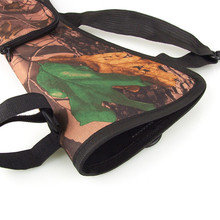 New Outdoor Top Grade Camouflage Archery Equipment Bag Bow Quiver Archery Easy Waist Hanging Arrow Pot