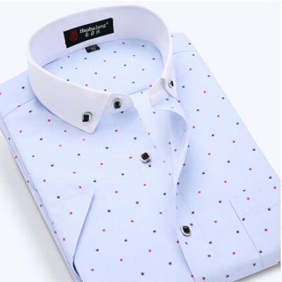 Brand Men Shirt Men Clothes Casual Print Shirt Short Sleeve Camisa Masculina Blusas Shirts Men Plus