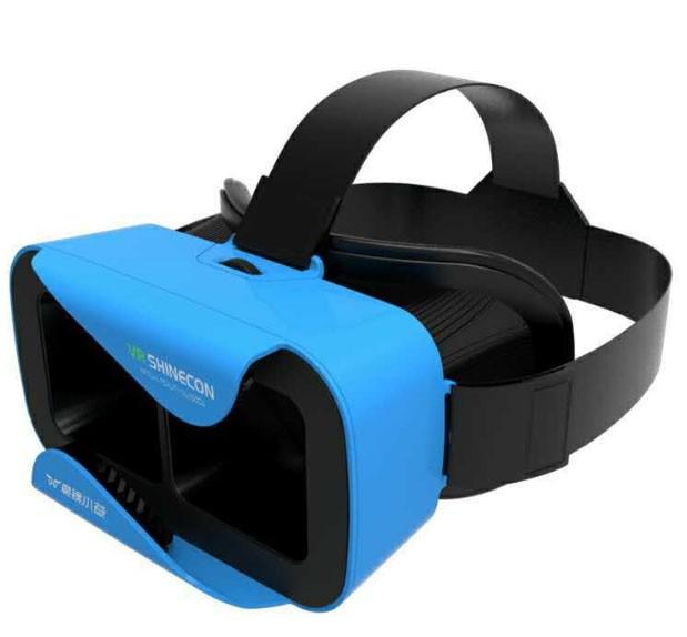 ถูก ที่มีคุณภาพสูงG Oogleกระดาษแข็ง2.0 VR Shineconบลูทูธความจริงเสมือน3Dกล่องชุดหูฟังโทรศัพท์หนังDVD Shineconแว่นตา