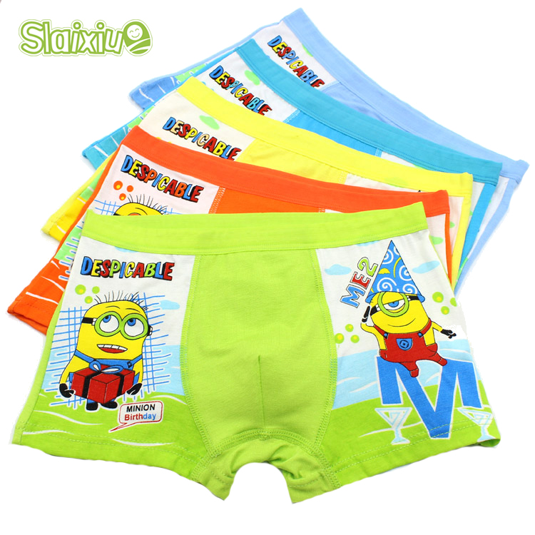5 Pcs/lot Soft Comfortable Modal Kids Boys Underwear Children's Panties Baby Boxer Underpants Briefs Underware Baby Clothing(China (Mainland))