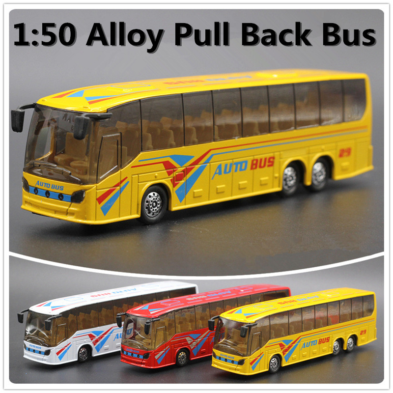 1:32 alloy car models, high simulation bus toy car with sound and light back to power , free shipping(China (Mainland))