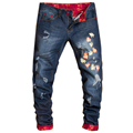HOT selling Top designer famous brand jeans men upscale cotton men's jeans pants, European and American style jeans men MJ17