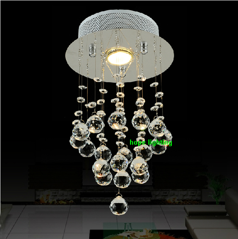 Crystal ball light fixture rain drop chandelier crystals led crystal chandeliers dining room - Crystal hanging chandelier ...