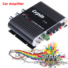 Black 2.1 3 Car Channel Stereo Mini Computer Car Amplifier Subwoofer Out Amplifier Lepai LP-838 Ideal audio amplifier(China (Mainland))