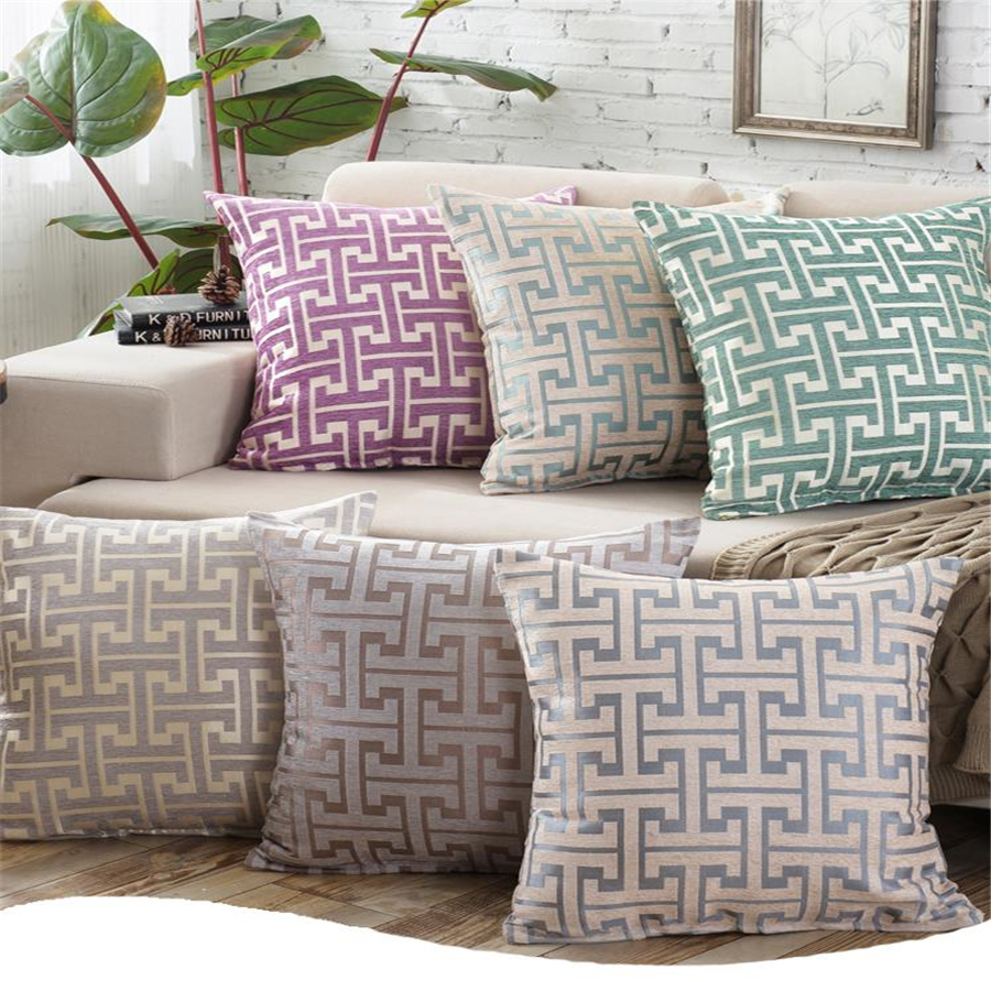 Luxury European Style 45x45cm Geometric Home/Office/Sofa/Bed Decorative Cushion/Throw Pillow(Not Contain Filling)