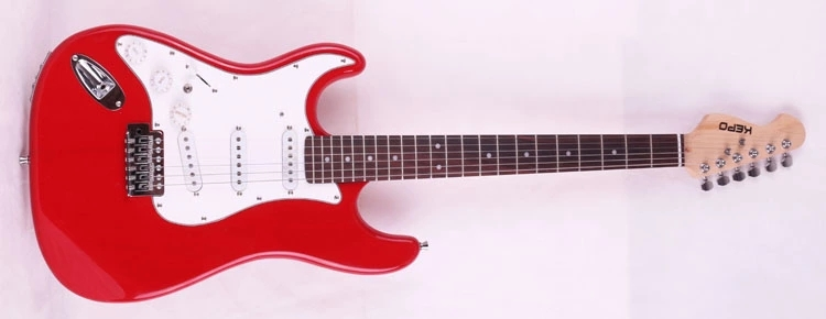 free shipping wholesale Factory USA single wave S left hand electric guitar OEM can be customized as required(China (Mainland))