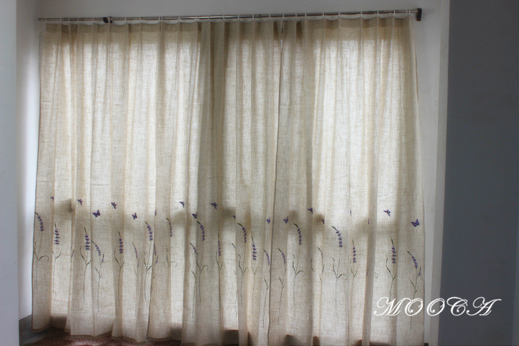 Purple Curtains For Bedroom Living Room The Living Room Finished Bedroom Curtain 175x180cm One Piece Purple