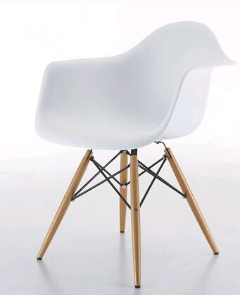 whole sales,Contemporary and contracted high creative personality home eat chair plastic chair fashion wooden leisure chair(China (Mainland))