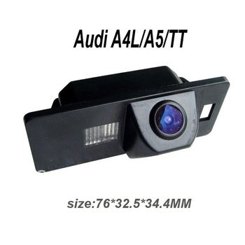 "Wireless 1090K CCD 1/3"" 170 degree Parking camera for Audio A4L/A5/TT Reversing Backup Parking System Night Vision"