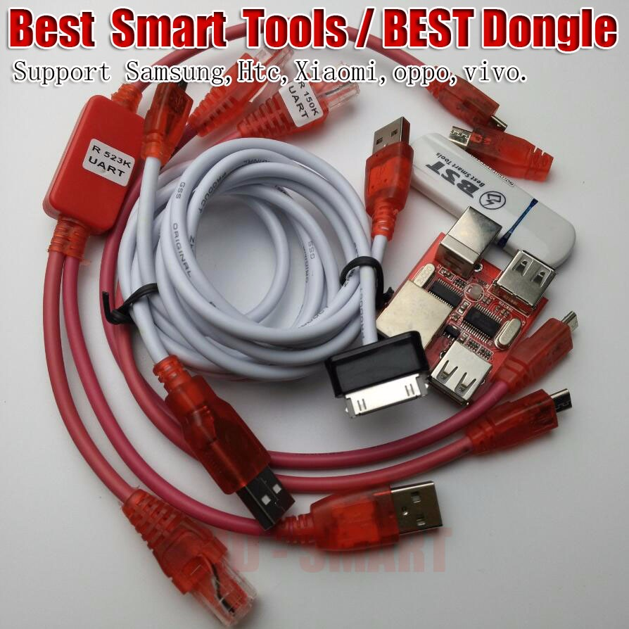 Freeship BST dongle for HTC SAMSUNG xiaomi oppo vivo unlock screen S6 S7 lock repair IMEI record date Best Smart tool dongle