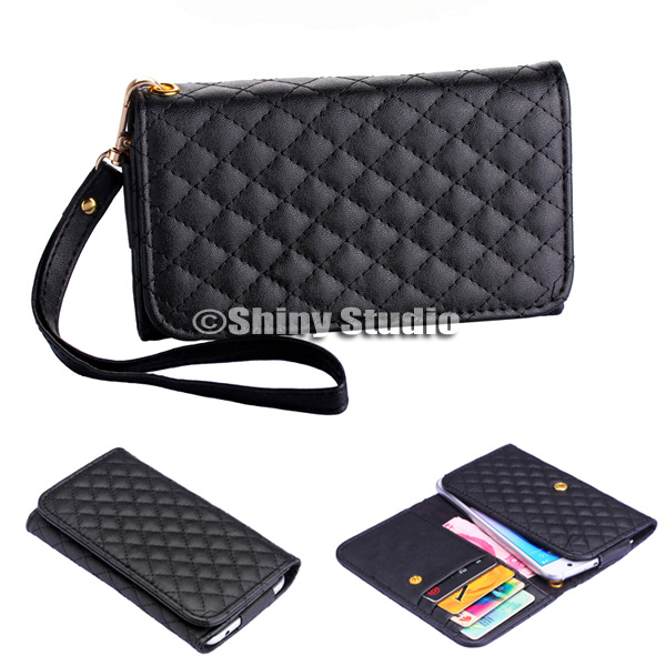 New Women Lady Fashion Accessories Card Money Wallet Leather Purse Case Cover Bag For Samsung Galaxy Note 4 Note4 N9100(China (Mainland))