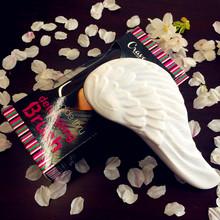 Tangle Comb Hair Brush Professional Hairbrush Anti-static White Angel Wings Comb(China (Mainland))