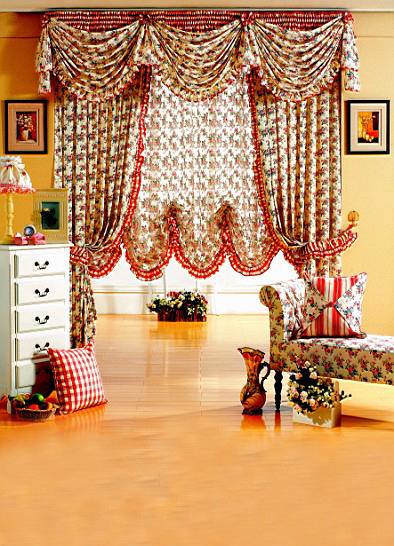 Фотография 600CM*300CM(20ft*10ft) Fundo Exquisite decorative look good hanging curtains photography backdrop background  AY 1275