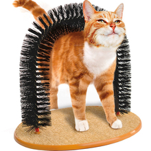 New Plastic Bristles Purrfect Arch Cat Groomer and Massage Kittens Groomer As font b Seen b