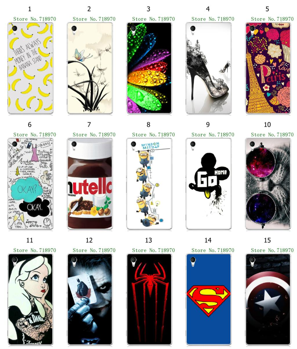 2015 Mickey Mouse despicable hybrid white hard cases Sony Xperia M4 Aqua - allmobilecase store