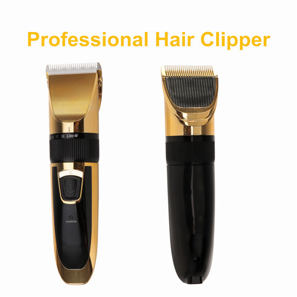 Best Price Modern Design Golden Professional Hair Clipper Rechargeable Electric Beard Trimmer Set hair cutting machine New(China (Mainland))
