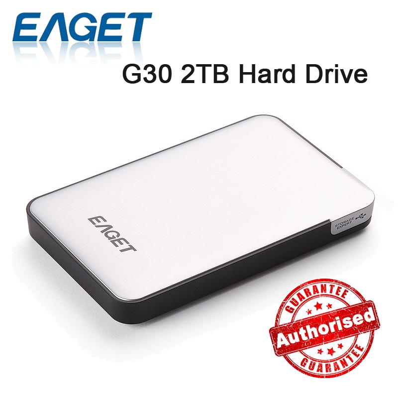 Eaget G30 2TB 1TB 500GB External Hard Drives 2TB USB 3.0 High Speed Portable Mobile Hard Disk 100% Original(China (Mainland))