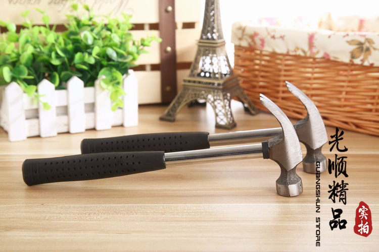 Precision Steel Handle claw hammer Household safety hammer Multi-functional Car emergency escape hammer maintenance tools(China (Mainland))