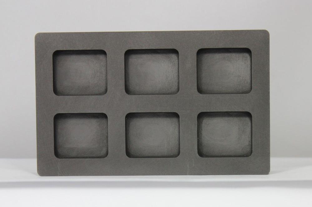 Гаджет  6 rect. Cavity 1oz silver Bar casting in Graphite Ingot Mold /silver melting graphite crucible/high purity graphite stirring rod None Строительство и Недвижимость